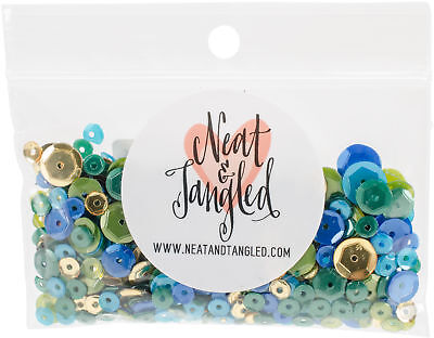 Neat & Tangled Sequin Mix-Peacock Feather