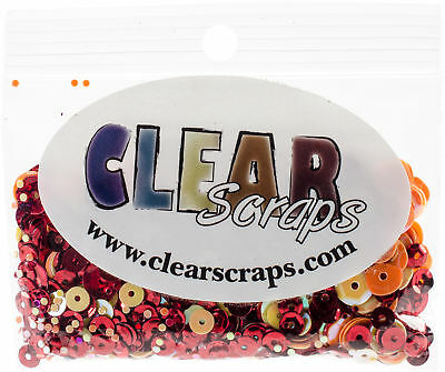 Clear Scraps Sequin Multi Pack 350 To 400 Pieces-Summer