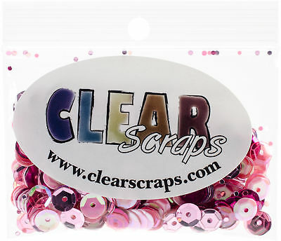 Clear Scraps Sequin Multi Pack 350 To 400 Pieces-Princess
