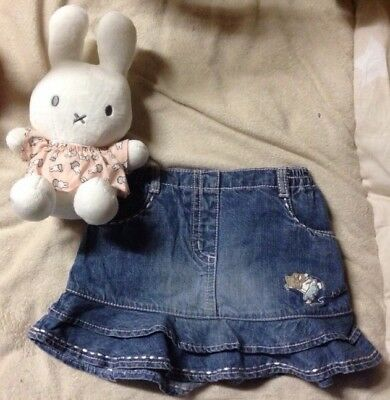 Jeans Rock Next Baby 0-3 Monate Gr.56 mit Maus 🐭