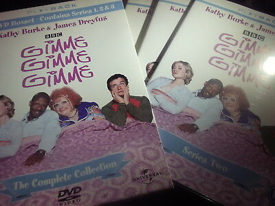 GIMME GIMME GIMME - Complete Series 1.2 & 3 (3 DVD Box Set 2001)BBC Comedy  MINT