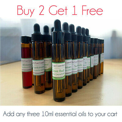 purelyBlack 100% Pure Essential Oils Aromatherapy 5ml~10ml