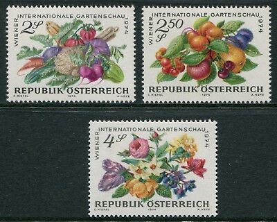 International Garden Show 1974 - Mnh Set Of Three (B253)