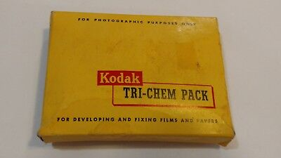 Vintage Kodak Tri-Chem Pack for Film & Paper Developing - Expired, Collection