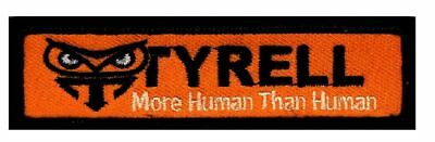 Blade Runner Tyrell Genetic Replicants Owl Logo Hook fastener Patch (TY1)