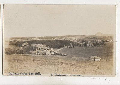 Gullane From The Hill East Lothian Scotland 1922 RP Postcard 653b