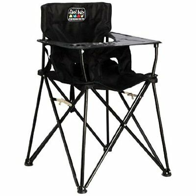 Baby Portable High Chair, Black,