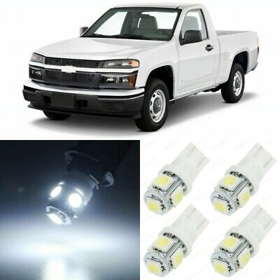 12 X Xenon White Interior Led Lights Package For 2004 2017 Chevy Colorado Tool