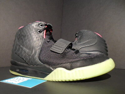 64be51e5 official store nike air yeezy 2 nrg solar red kanye 100 authentic 385bc  e5886