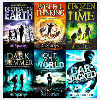 Ali Sparkes Collection 6 Books Set Car-Jacked,Out of This World Paperback NEW