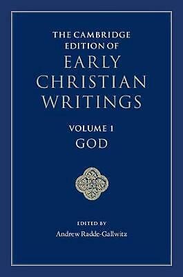 Cambridge Edition of Early Christian Writings by Translate Edited An Hardcover B
