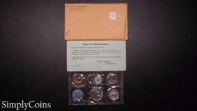 1959 Proof Set ~ Original Envelope With COA ~ US Mint Silver Coin Lot SKU-806