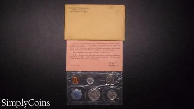 1964 Proof Set ~ Original Envelope With COA ~ US Mint Silver Coin Lot SKU-814