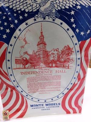 Monte Models Vtg American Landmark Independence Hall Philadelphia NIP 1:12  1973