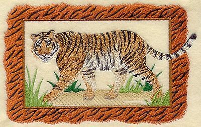 Embroidered Fleece Jacket - Bengal Tiger A4505 Sizes S - XXL
