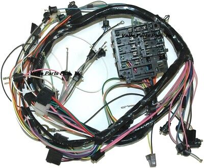 69 Chevelle Dash Wiring Harness with Warning Lights, NEW