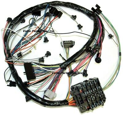 69 Chevelle Dash Wiring Harness with Warning Lights and A/C, NEW