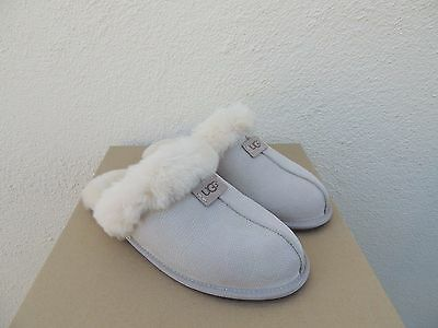 ddc11ce673a UGG CERAMIC SCUFFETTE Ii Snake Leather Sheepskin Slippers, Us 10/ Eur 41  ~Nib