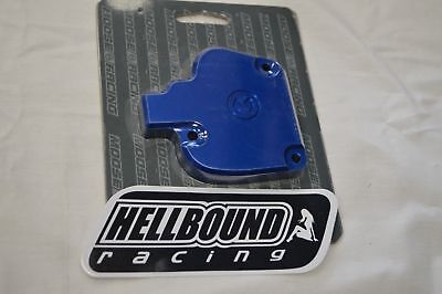 Moose Racing Blue anodized aluminum thumb throttle cover Yamaha Banshee 350