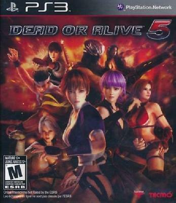 Dead or Alive 5 PS3 Complete NM Play Station 3, video games