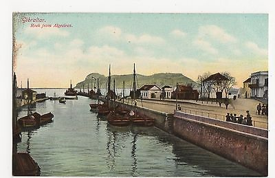 Gibraltar, Rock from Algeciras Postcard #1, A795