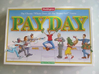 Payday Board Game By Waddingtons Vintage Edition  Dated 1998 Complete