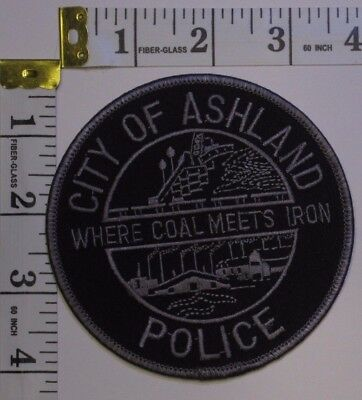 Ashland Kentucky Police Department Shoulder Patch Subdued