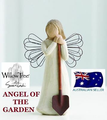Willow Tree ANGEL OF THE GARDEN Figurine By Susan Lordi By Demdaco NEW IN BOX