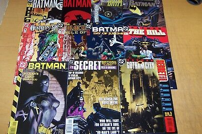DC COMICS BATMAN SPECIALS & ONE-SHOTS x 11 1994-2004