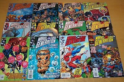 Marvel Comics Marvel: The Lost Generation 1-12 Full Set 2000/01