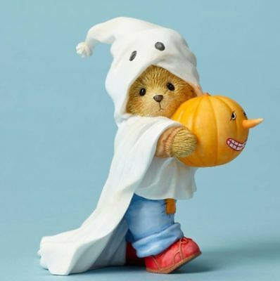 Cherished Teddies Share A Bootiful Smile Bear Costume Halloween Figurine 4053444