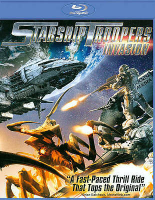 Starship Troopers: Invasion (Blu-ray Disc, 2012, Includes Digital Copy) - NEW!!