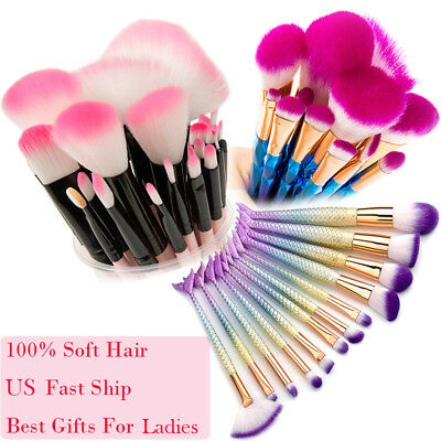 32pcs Makeup Brushes Soft Cosmetic Eyebrow Shadow Brush Tool Set Lady Beauty Kit