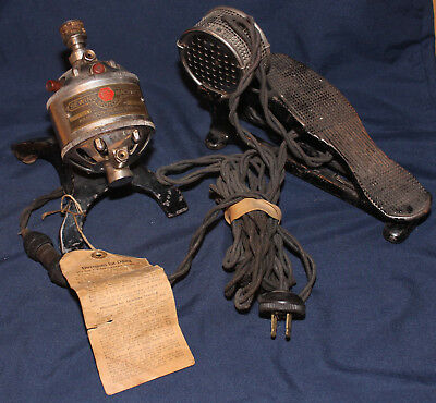 Original 1912 Working Hamilton Beach Sew EZ Electric Motor w/Foot Pedal