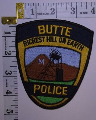 Butte Montana Police Department Shoulder Patch
