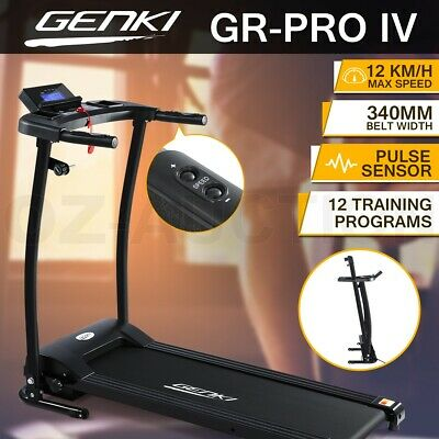 Genki 340mm Belt Electric Treadmill Exercise Fitness Gym Machine Home Equipment