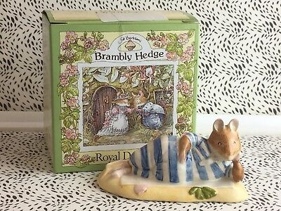 Lovely Royal Doulton Brambly Hedge ''Mr Saltapple'' Figurine DBH25 USC RD8077