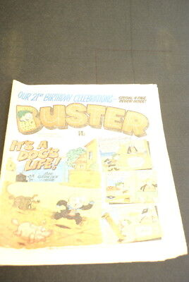 *BUSTER Vintage Comic 10th October 1981
