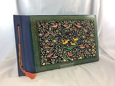 Antique 1890s Victorian Scrapbook or Photograph Album Ready for Decoupage