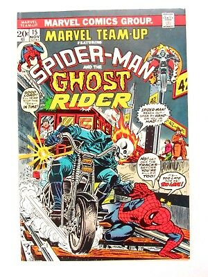 Marvel Team-Up #15 (1973) High Grade Ghost Rider, 1st Orb VF/NM 9.0 CC63
