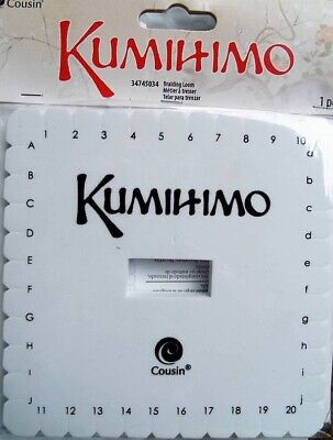 """Kumihimo Braiding Loom 5.375""""  Square With Instructions"""