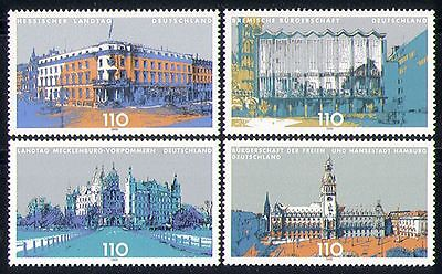 Germany 1999 Buildings/Architecture/Design/Parliament 4v (n31293)