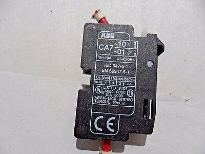 ABB CA7-10 / 01, Auxiliary Contact