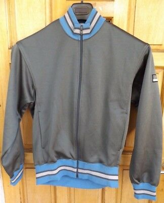 WOMEN`S VINTAGE CHAMPION TRACKSUIT TOP SIZE UK 14   LARGE RETRO 80`s ... b57c136022