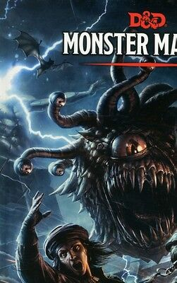 Monster Manual: A Dungeons & Dragons Core Rulebook (Dungeons & Dragons Core Rul.