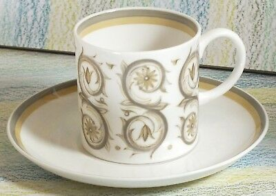 Susie Cooper coffee cup & saucer Venetia pattern C2039 (6 sets multiple listing)