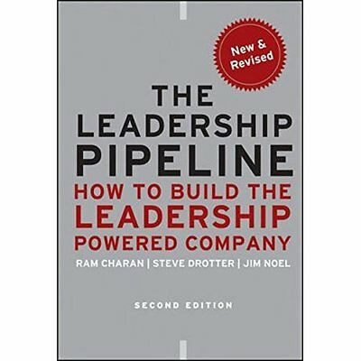The Leadership Pipeline: How to Build the Leadership Po - Hardcover NEW Charan,