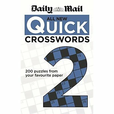 Daily Mail: All New Quick Crosswords 2 - Paperback NEW Mail, Daily 2013-05-06
