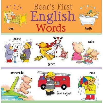 Bear's First English Words (Bear's First Words) - Hardcover NEW Catherine Bruzz