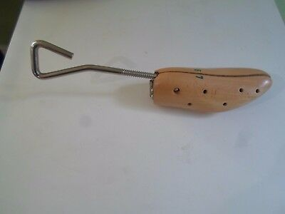 Good Working Wood and Metal Shoe Stretcher - Display or Prop